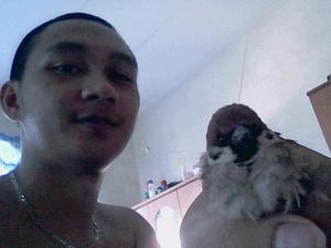 Me and my little birdy