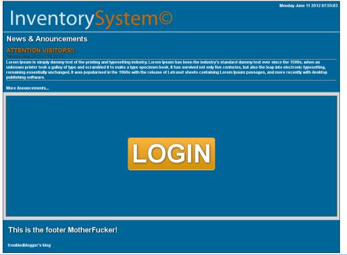 inventory website